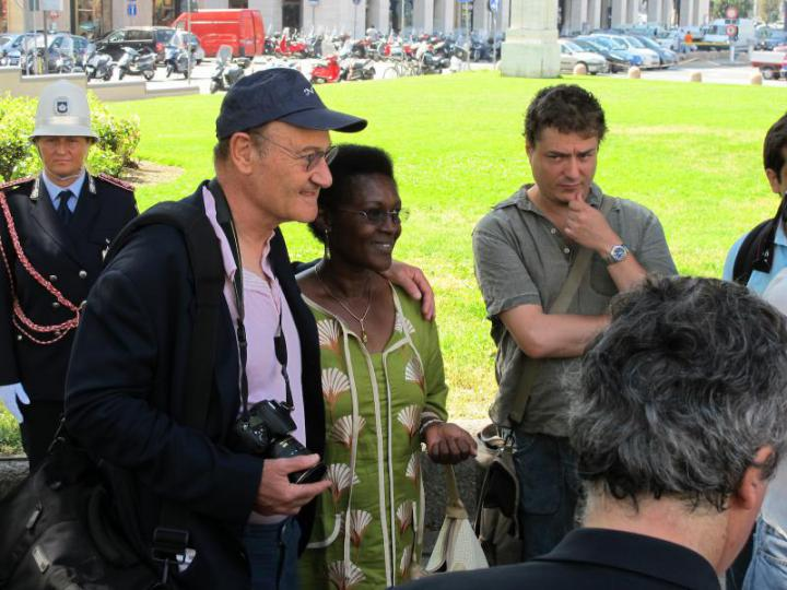 Gabriele Nissim e Yolande Mukagasana