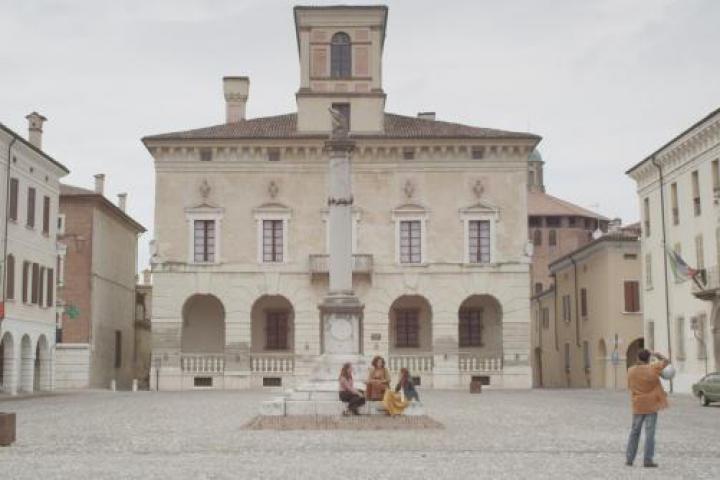 La piazza di Sabbioneta