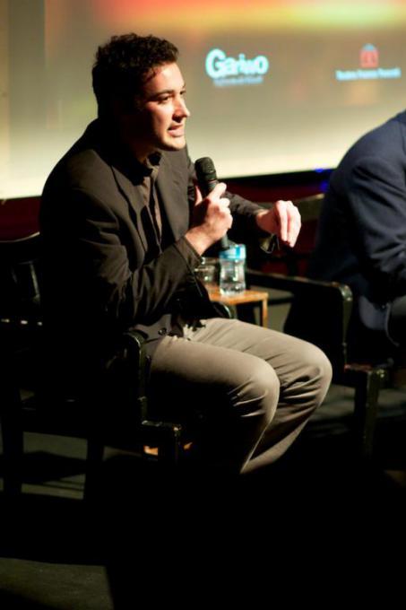 L'attivista siriano e scrittore Shadi Hamady