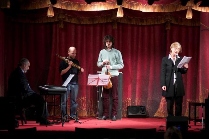 Il concerto di Gaetano Liguori, con le letture di Lucia Vasini