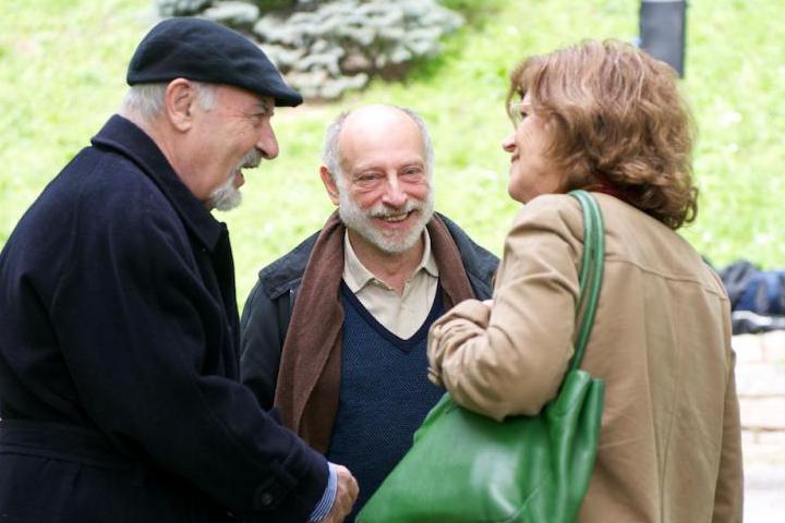 Il Console Kuciukian con Stefano Levi Della Torre