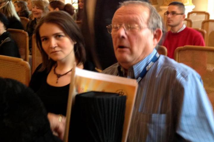 """Adam Michnik, fondatore e direttore del quotidiano """"Gazeta Wyborcza""""e convinto attivista anti-comunista e anti-totalitarista"""