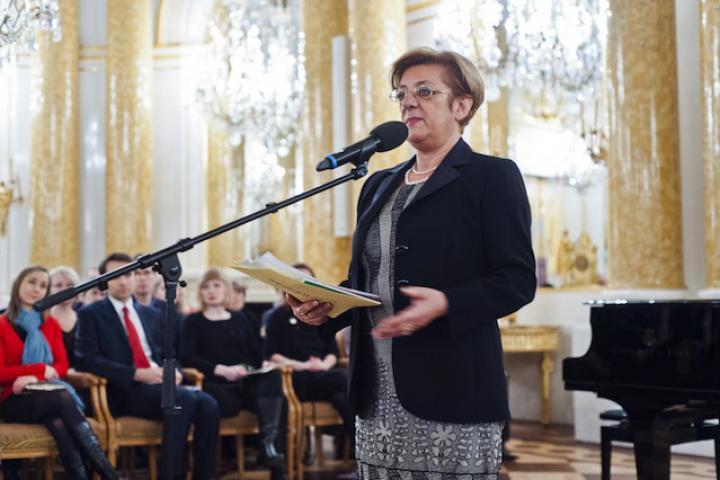 Annalia Guglielmi, Concerto per i Giusti, Palazzo Reale, Varsavia