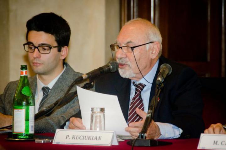 Francesco Tava e Pietro Kuciukian, console onorario della Repubblica di Armenia