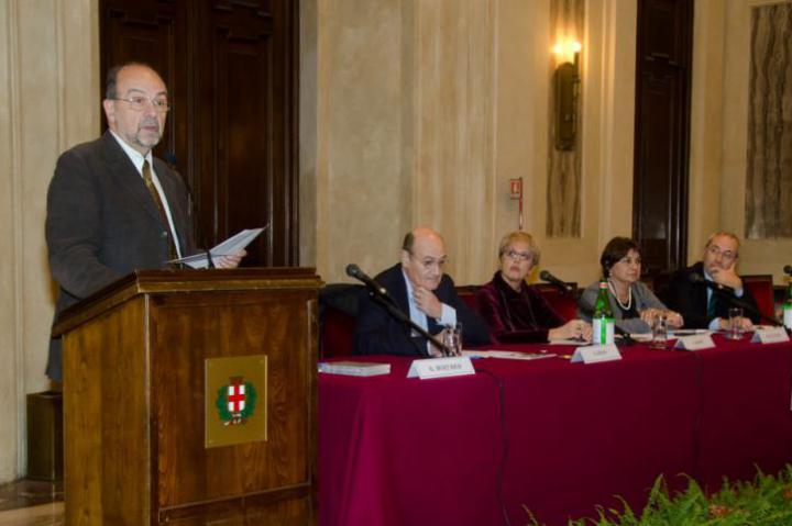 Giorgio Mortara, Gabriele Nissim, Ulianova Radice, Maria Grazia Guida, Basilio Rizzo