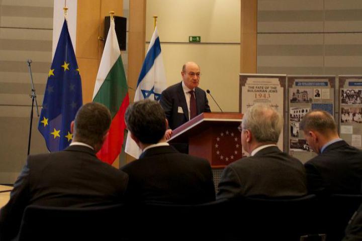 Gabriele Nissim, Conferenza su 70esimo anniversario salvataggio ebrei bulgari, Bruxelles