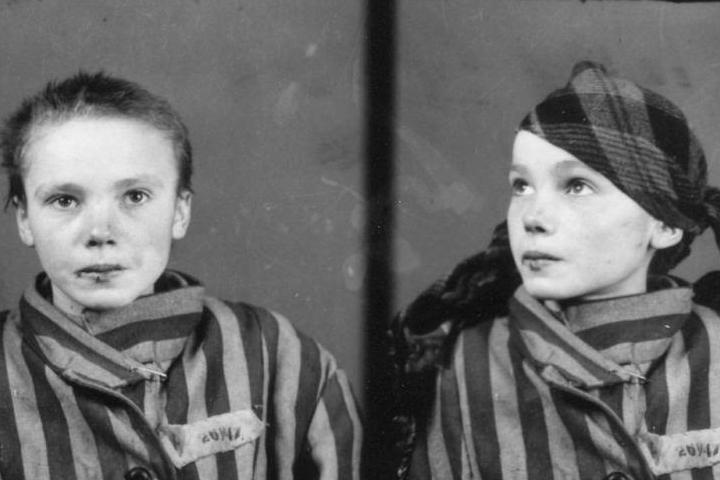 Matricola di Auschwitz ragazzina