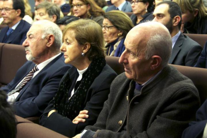 Pietro Kuciukian, Anna Maria Samuelli e Don Gino Rigoldi