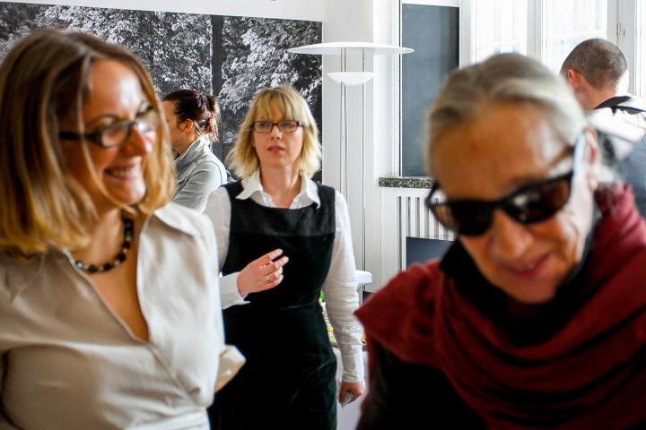 Ania Ziakowska con un'invitata