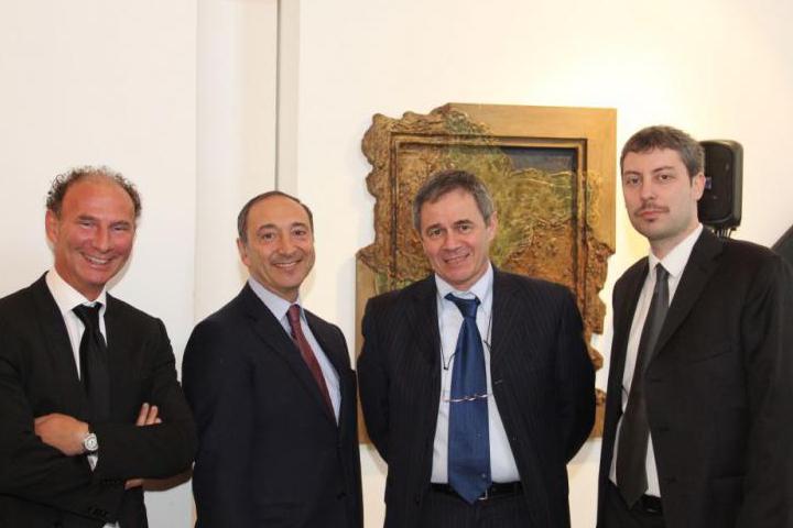Andreas Pieralli con i relatori