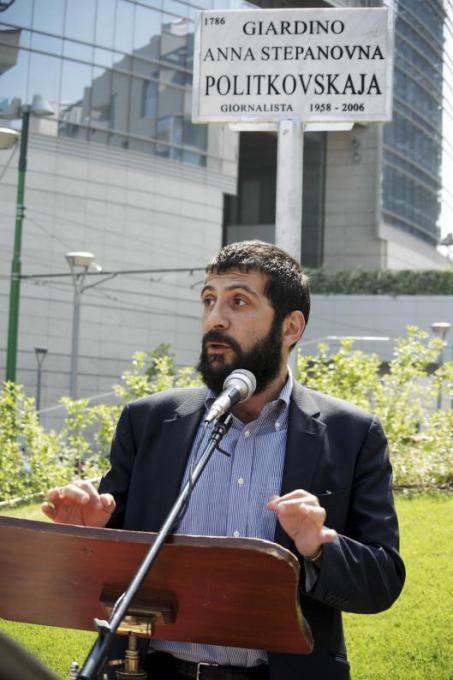 Andrea Riscassi, giornalista Rai