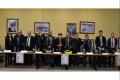 Spezzano Albanese, con la presenza del sindaco di Spezzano Albanese, il sindaco di Rota Greca e il dirigente della polizia posta Calabria