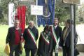 Da sinistra: Lidiano Zanzi, Presidente Endas, Eugenio Fusignani, Vicesindaco di Ravenna, Eleonora Proni, Sindaco di Bagnacavallo,  Luca Piovaccari, Sindaco di Cotignola, Romano Tambini.