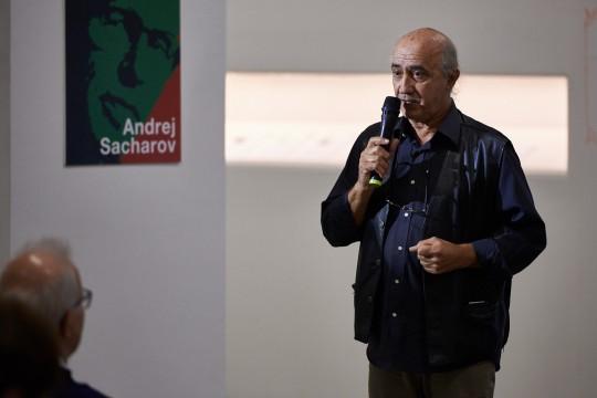 Vito Fiorino, il soccorritore di Lampedusa, Giusto al Giardino Virtuale del Monte Stella