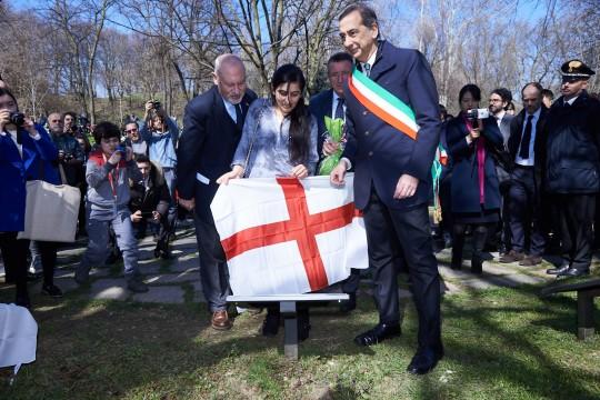 Pietro Kuciukian, Farida Abbas e il Sindaco Sala