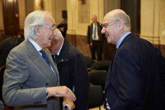 Gabriele Nissim con Alberto Frisia