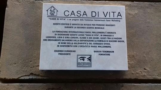 Alle CASE DI VITA a Siena