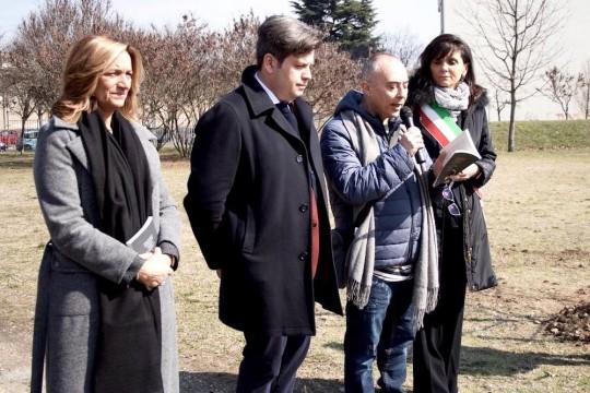 A Vercelli con il poeta Roberto Malini