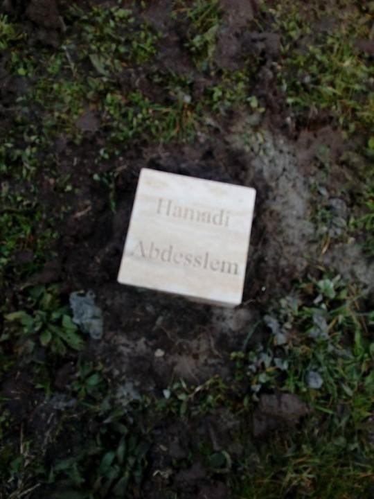 Una targa a Roma per Hamadi ben Abdesslem
