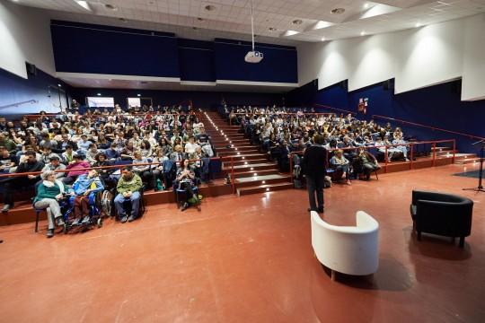 Il pubblico dell'Auditorium