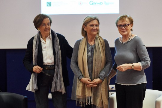 Annamaria Samuelli, Franca Schiavon e Raffaella Crosta