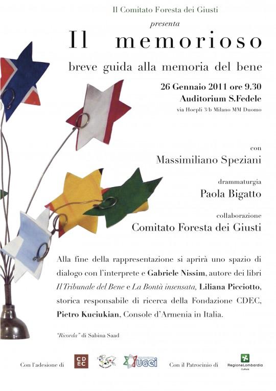 Il Memorioso - 2011