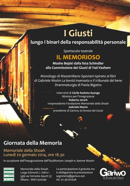 Il Memorioso - 2014