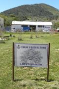all'inaugurazione 2018 del Bosco dei Giusti di Bussi Sul Tirino (Pescara)