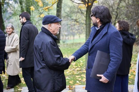 Pietro Kuciukian, Console onorario d'Armenia in Italia e co-fondatore di Gariwo, e Simone Zoppellaro, giornalista