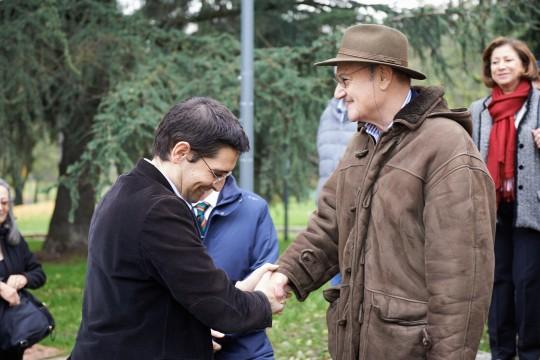 Gabriele Nissim e Vladimir Marinov, dell'Università europea di Sofia
