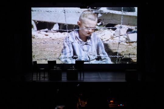 """alcune immagini dal film """"Il bambino con il pigiama a righe"""""""