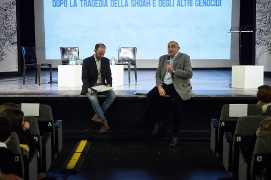 con lo scrittore Francesco Cataluccio