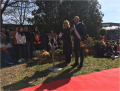 Il Dirigente scolastico dott.ssa Paola Bernazzoli e il Sindaco di Noceto Fabio Fecci
