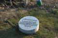 Il cippo a Svetlana Broz per ricordare i Giusti di Bosnia