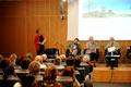 Ulianova Radice, curatrice del progetto, presenta il sito dei Giardini virtuali