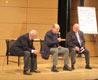 Nissim e Kuciukian rispondono al pubblico degli studenti