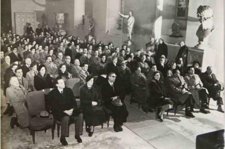Fernanda Wittgens, Enzo Carli, Gian Alberto Dell'Acqua- per gentile concessione dell'Accademia di Brera