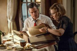 """Matt Damon e Cate Blanchett in """"The Monuments Men."""" (Claudette Barius/Columbia Pictures e 20th Century Fox)"""