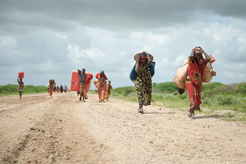Migrazione interna in Somalia.