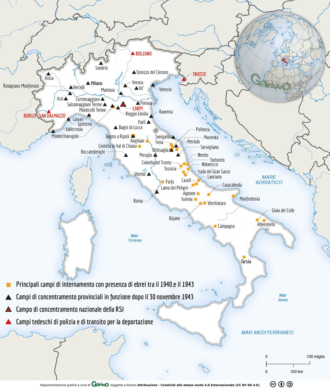 Cartina D Italia 1940.Shoah Il Genocidio Della Popolazione E Della Cultura Ebraica Perpetrato Dal Regime Nazista Approfondimento