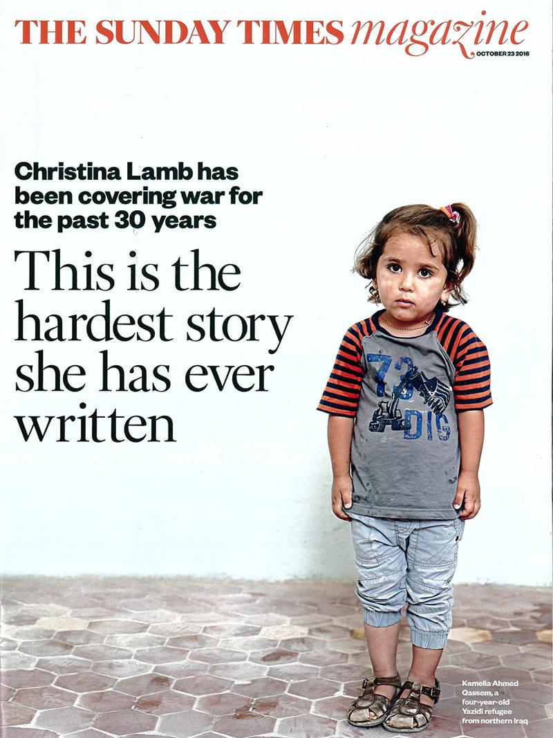 The Sunday Times magazine, October 23, 2016