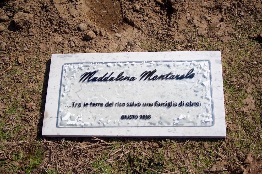 Una targa a Vercelli per Maddalena Montarolo