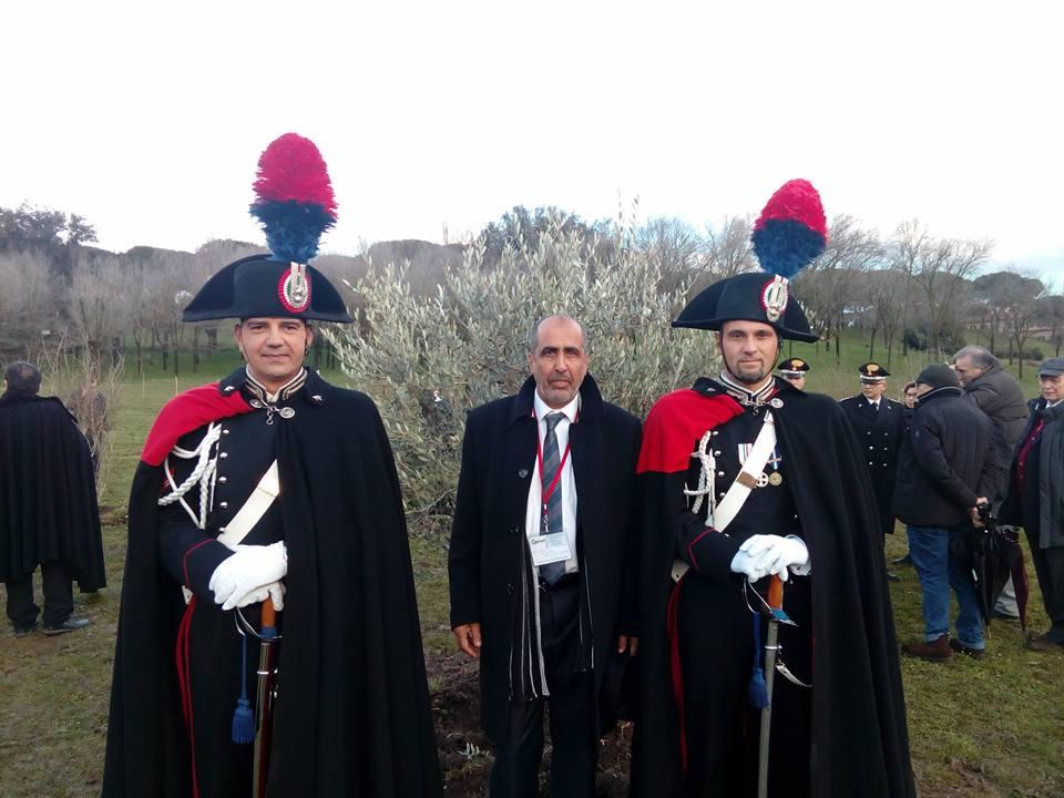 Mohamed Naceur ben Abdesslem (Hamadi) al Giardino di Roma