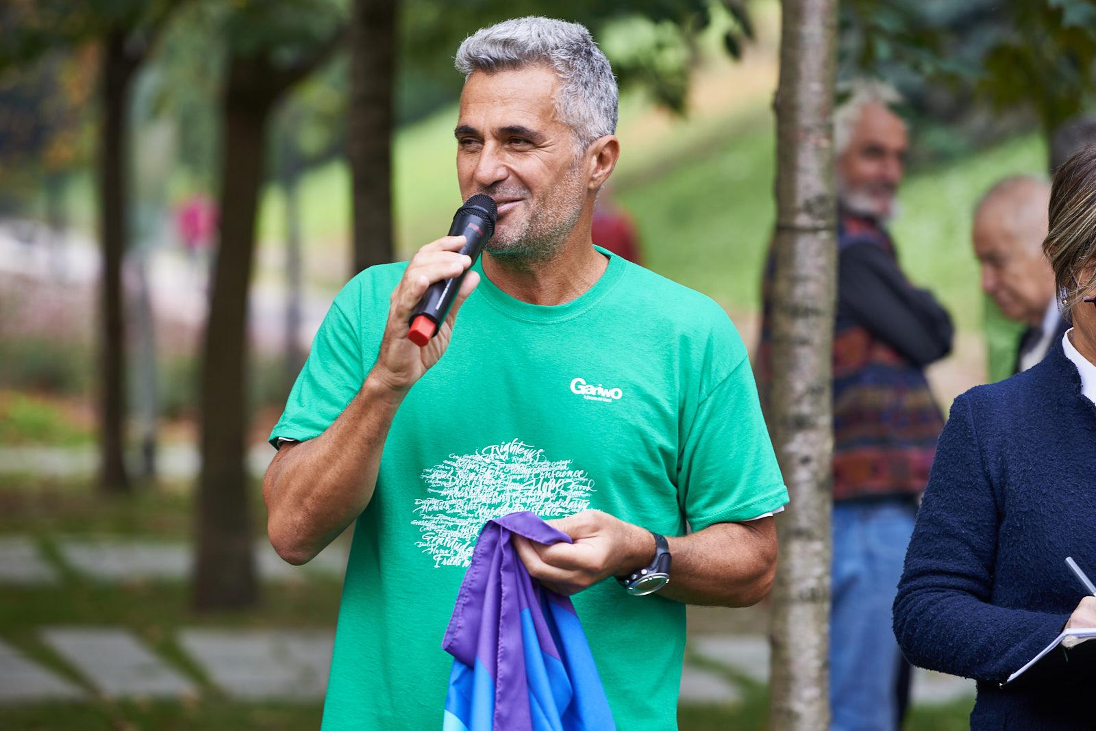 Ara Khatchadourian, il runner per la pace