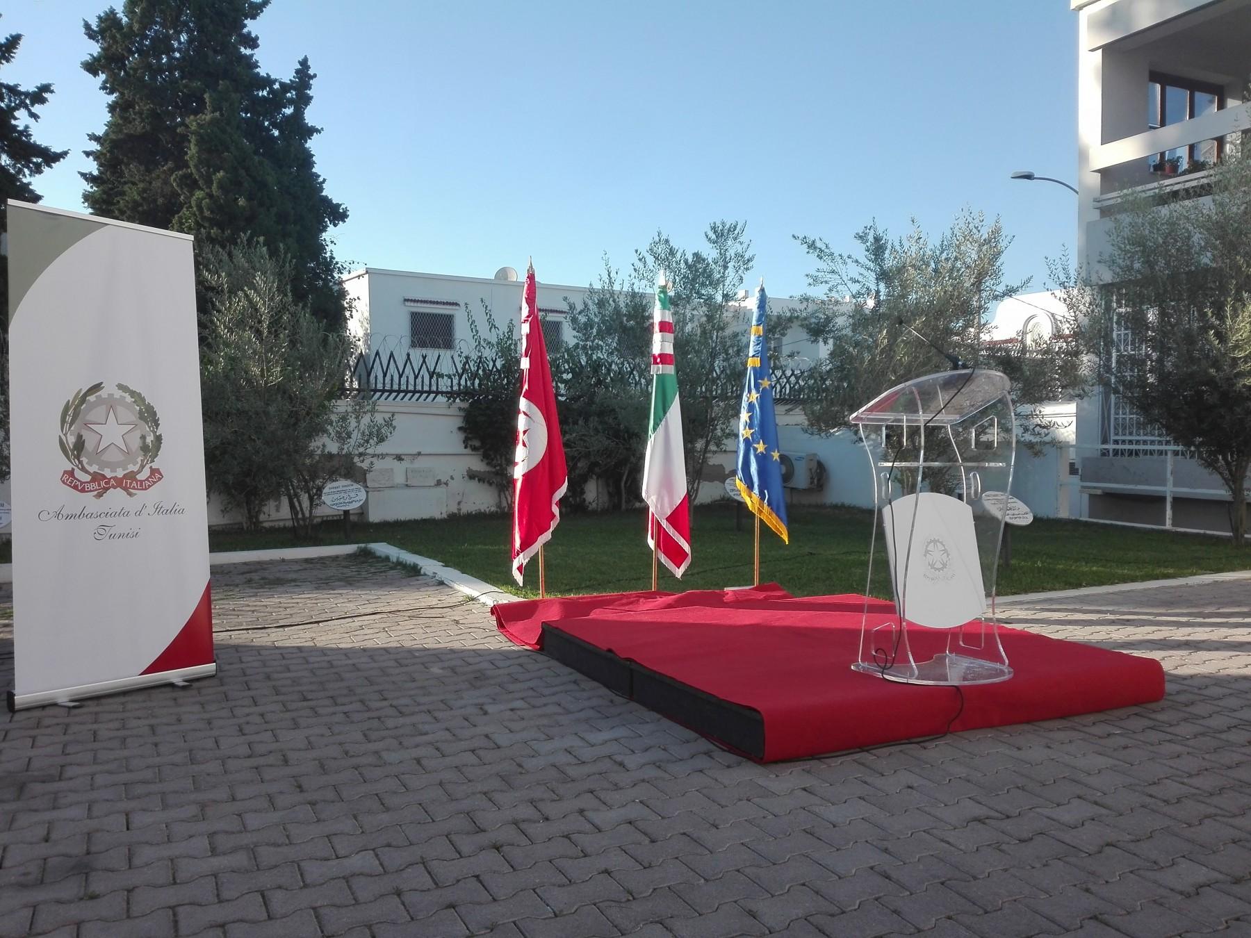 pronti per la cerimonia
